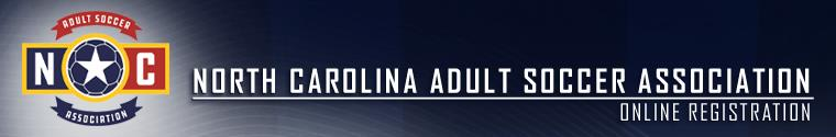 North Carolina Adult State Soccer Association banner